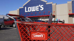 Lowes Credit Card - Lowe's sales surge, make money practically doubles
